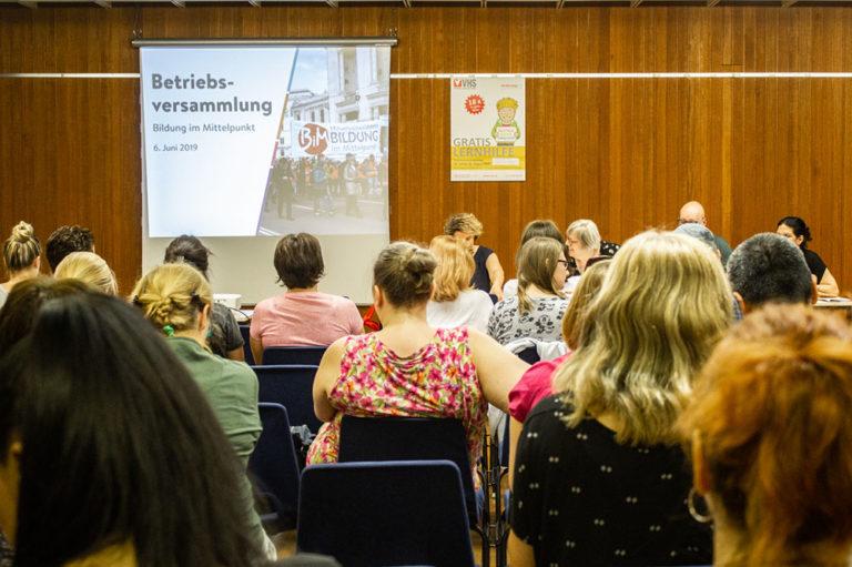 Betriebsversammlung Bildung im Mittelpunkt (2)